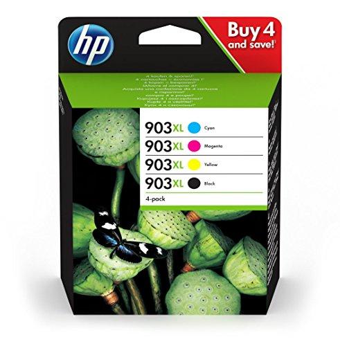 HP 3hz51ae–Lote de 4cartuchos de tinta originales Compatible con HP Officejet CMYK