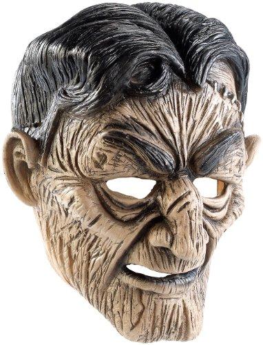 infactory Masque de Zombie en Latex avec Bouche Mobile