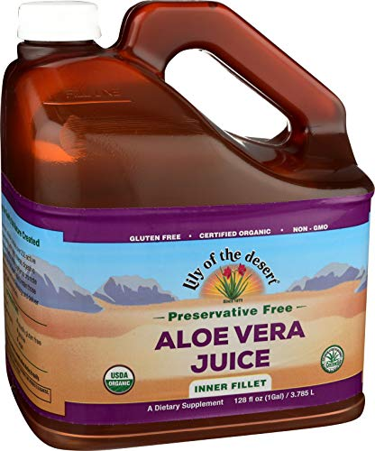 Lily of The Desert Aloe Vera Juice, 128 Fluid Ounce