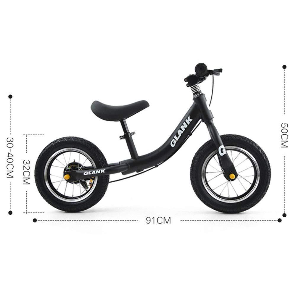 GAOJIN Balance Bike Rueda neumática de aleación de Aluminio No Pedal Walking Balance Entrenamiento Bicicleta Base deajustable Bike para niños y niños de 2 a 6 años Certificación 3C: Amazon.es: Hogar