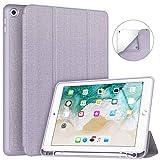 Soke iPad 9.7 2018/2017 Case with Pencil Holder, Lightweight iPad...