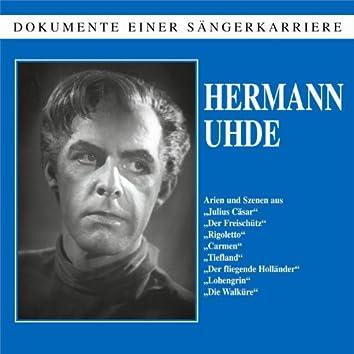 Dokumente einer Sängerkarriere - Hermann Uhde