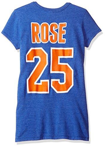 NBA Playera de Baloncesto para Mujer, Mujer, Camiseta de Manga con diseño de Baloncesto, B227W, Azul, M