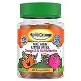 Haliborange Kids Mr. Men Little Miss Omega-3 and Multivitamins softies