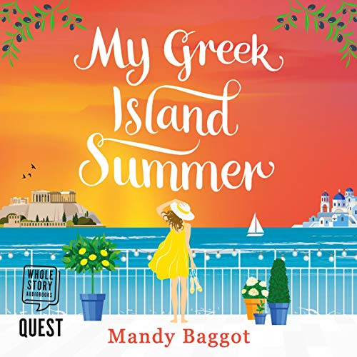 My Greek Island Summer audiobook cover art