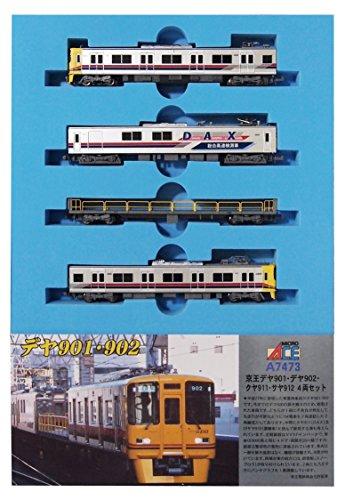 マイクロエース Nゲージ 京王デヤ901・デヤ902・クヤ911・サヤ912 4両セット A7473