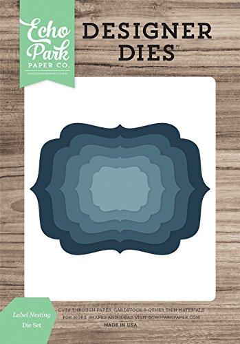 Echo Park Paper Company Label Nistkasten sterben Set