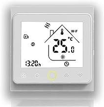 BecaSmart 002 Serie 3 / 16A Pantalla táctil LCD Agua/Calefacción eléctrica/Caldera Termostato de control de programación i...