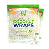 IF FROZEN - If Wraps arrive frozen or solid due to cold weather, please allow them to thaw fully before consuming. NUTRITIONAL VALUE -This keto friendly, certified organic, all-natural, raw, non-GMO NUCO coconut wrap contains only 70 calories and 4 g...