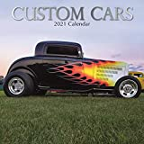 2021 Wall Calendar - Custom Cars Calendar, 12 x 12 Inch Monthly View, 16-Month, Automobile Theme, Includes 180 Reminder Stickers