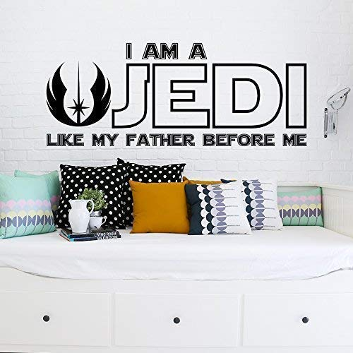 I Am a Jedi Like My Father - Before Decal Star Washington Mall Max 43% OFF Me Decals Wall