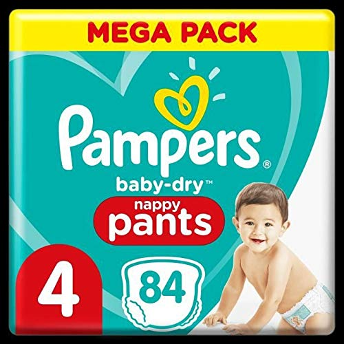 Pampers 81714248 - Baby-dry pants pantalones, unisex