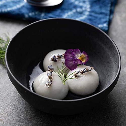 QTQZ 11,4 cm personligt hushållsrisskål, keramisk skål hushåll frukostskål   kreativ restaurang västerländsk stil servis