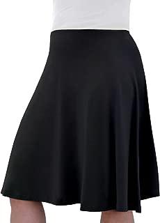 Kosher Casual Modest Kids/Big Girl's Knee Length Full A-Line Skater Skirt