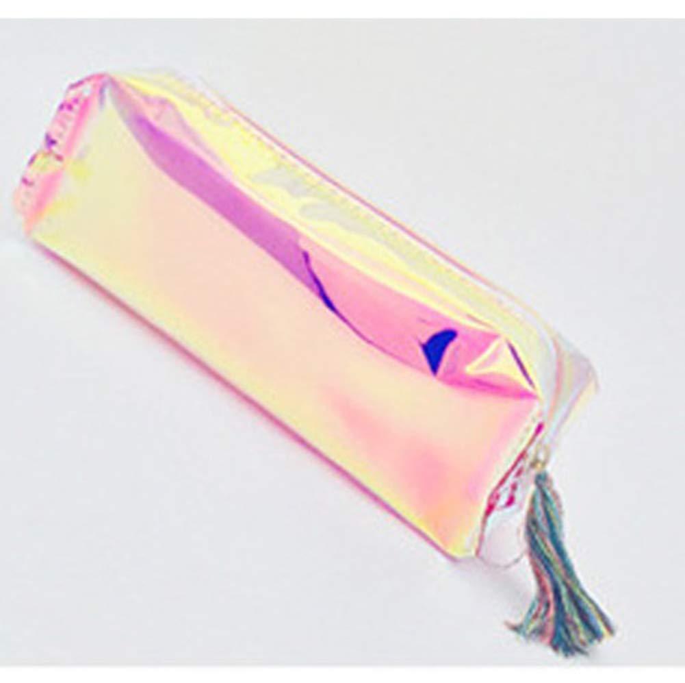 Qinlee - Estuche de papel de carta transparente con diseño de cerdo, color rosa: Amazon.es: Bricolaje y herramientas
