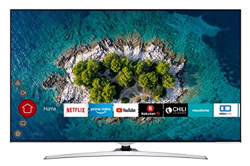 HITACHI U65L7000 165 cm (65 Zoll) Fernseher (4K Ultra HD, HDR10, Dolby Vision HDR, WCG, Triple Tuner, Smart TV, Works with Alexa, Bluetooth, PVR)