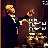 ドヴォルザーク:交響曲第7番・第8番