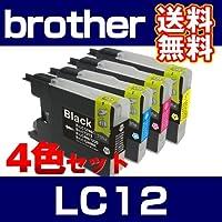互換インクカートリッジ 4色セット LC12
