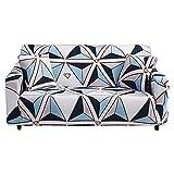 WXQY Sofá de Manga Deslizante elástica Funda de sofá elástica en Forma de L Muebles de Sala de Estar sillón combinación Funda de sofá A2 3 plazas