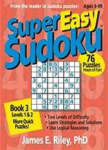 Super Easy Sudoku, Book 3