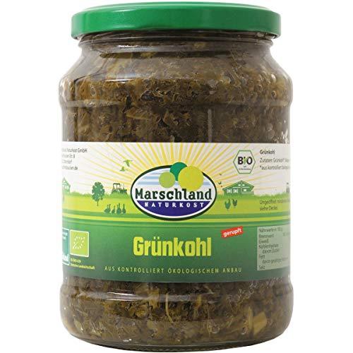 Marschland Grünkohl im Glas (660 g) - Bio