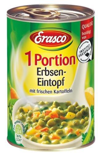 Erasco Erbsen-Eintopf, 6er Pack (6 x 440 g Dose)