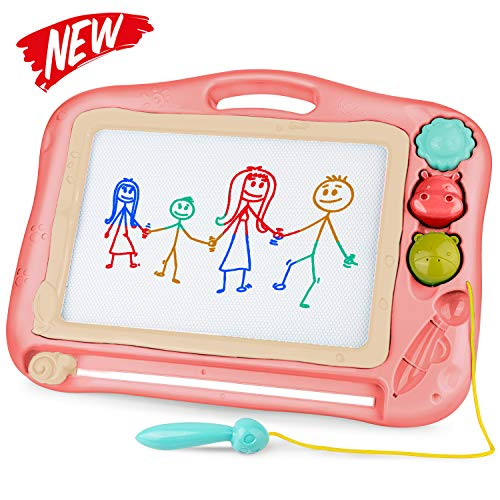 Gamenote Magnetic Drawing Board for Kids 12×16 inch - Kids Toddler Drawing...