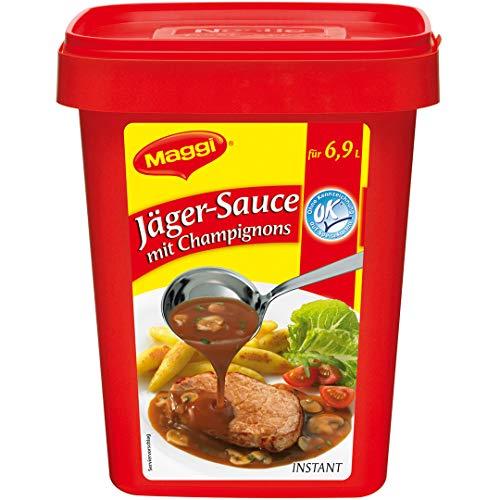 Maggi Jaeger-Sauce mit Champignons 800 g, 1er Pack (1 x 0.8 kg)