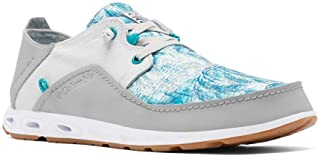 Men's Bahama Vent PFG Lace Relaxed Boat Shoe, Steam/Sea Level, 17