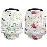 Best Nursing Covers - NEWITIN 2 Pieces Flower Nursing Cover Breastfeeding Scarf Review