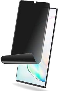 ستيكر واقي وحماية الشاشة حراري غامق (للحفاظ على الخصوصية) مقاوم للخدوش لجوال سامسونج جالكسي نوت 10 بلس