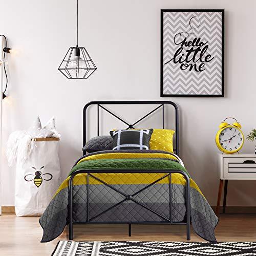 Hillsdale Furniture Metal Bed wi...
