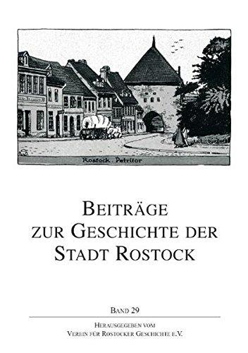Beiträge zur Geschichte der Stadt Rostock: BD 29