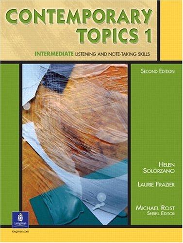Contemporary Topics 1, Second Edition (Student Book)