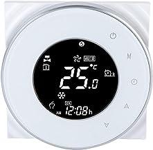 Wifi eléctrico Termostato Pantalla táctil LCD Termostato Soporte Control de la aplicación Controlador de temperatura por s...