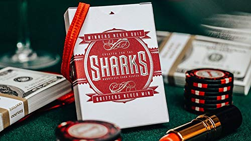 Murphy's Magic Supplies, Inc. Spielkarten DMC Shark V2 Playing Cards