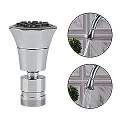QLOUNI 2-Funktionshandbrause 2-flow Wasserhahn Luftsprudler