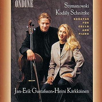 Szymanowski / Kodály / Schnittke: Sonatas For Cello And Piano