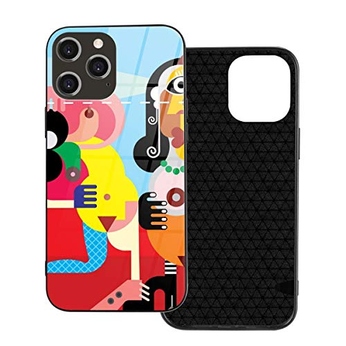 iPhone TPU Glass Phone Case Laptop Christma GiftsTwo Nude Dancing Art Picasso Iphone12 Pro Max