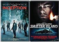 Shutter Island & Inception DVD 2 Pack Leonardo DiCaprio Thriller Double Feature Movie Set