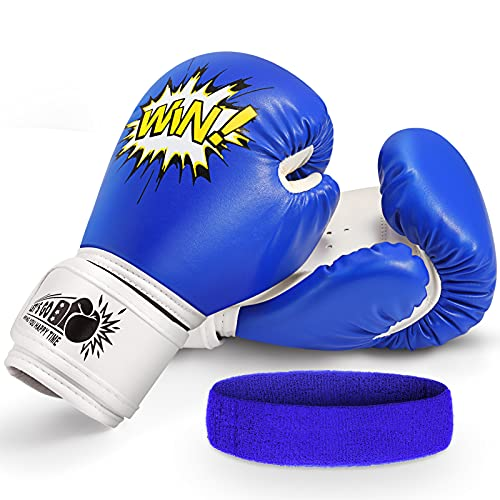 Letsgozzc Kinder Boxhandschuhe,...