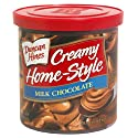 Duncan Hines Creamy Home-Style Frosting, Milk Chocolate, 16 oz (1 lb) 453 g