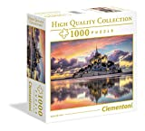 Clementoni Mont Saint Michel HQ - Puzzle (1000 piezas)