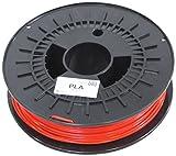 German RepRap PLA Filament, 750 g, 3 mm, rot