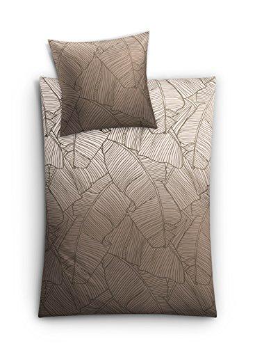 Kleine Wolke Parure de lit, Taupe, 155 x 220 cm