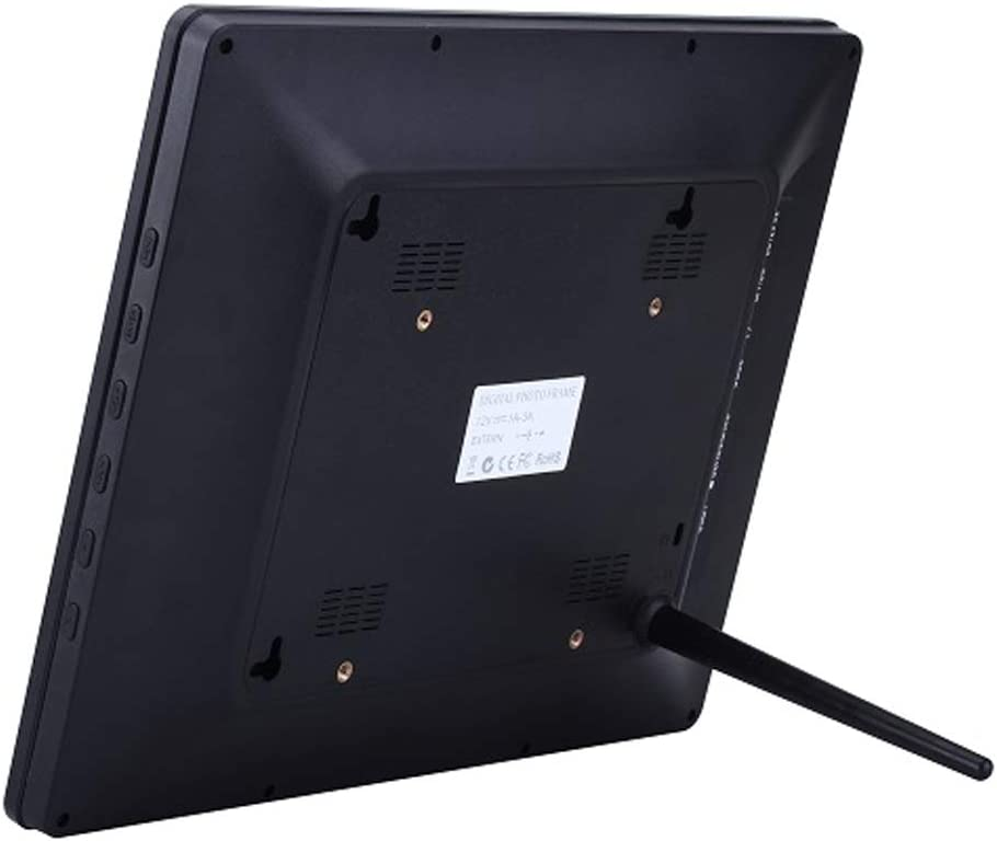 WHJ@ Digital Framesl,Digital Photo-Frame Timed On//Off USB Interface Black and White Optional Multiple OSD Languages Built-in Speaker
