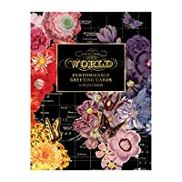 Wendy Gold Map of the World DIY Greeting Card Folio (Stationery)