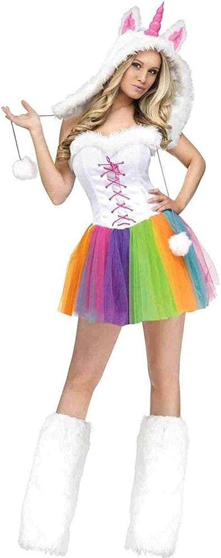 comprar nuevo barato Wohombres Wohombres Wohombres Unicorn Fancy Dress Costume Small Medium  cómodo