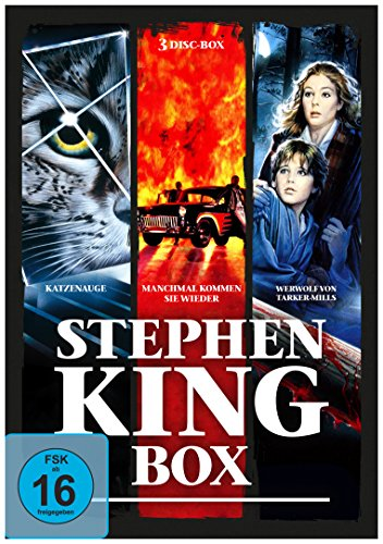 Stephen-King-Horror-Collection [3 DVDs]