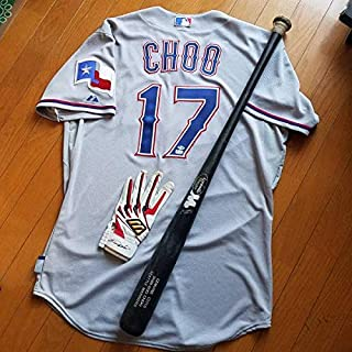 MLB 秋信守 Shin Soo Choo 実使用 ジャージ バット グローブ